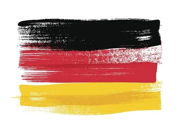 Artist rendering of German flag.