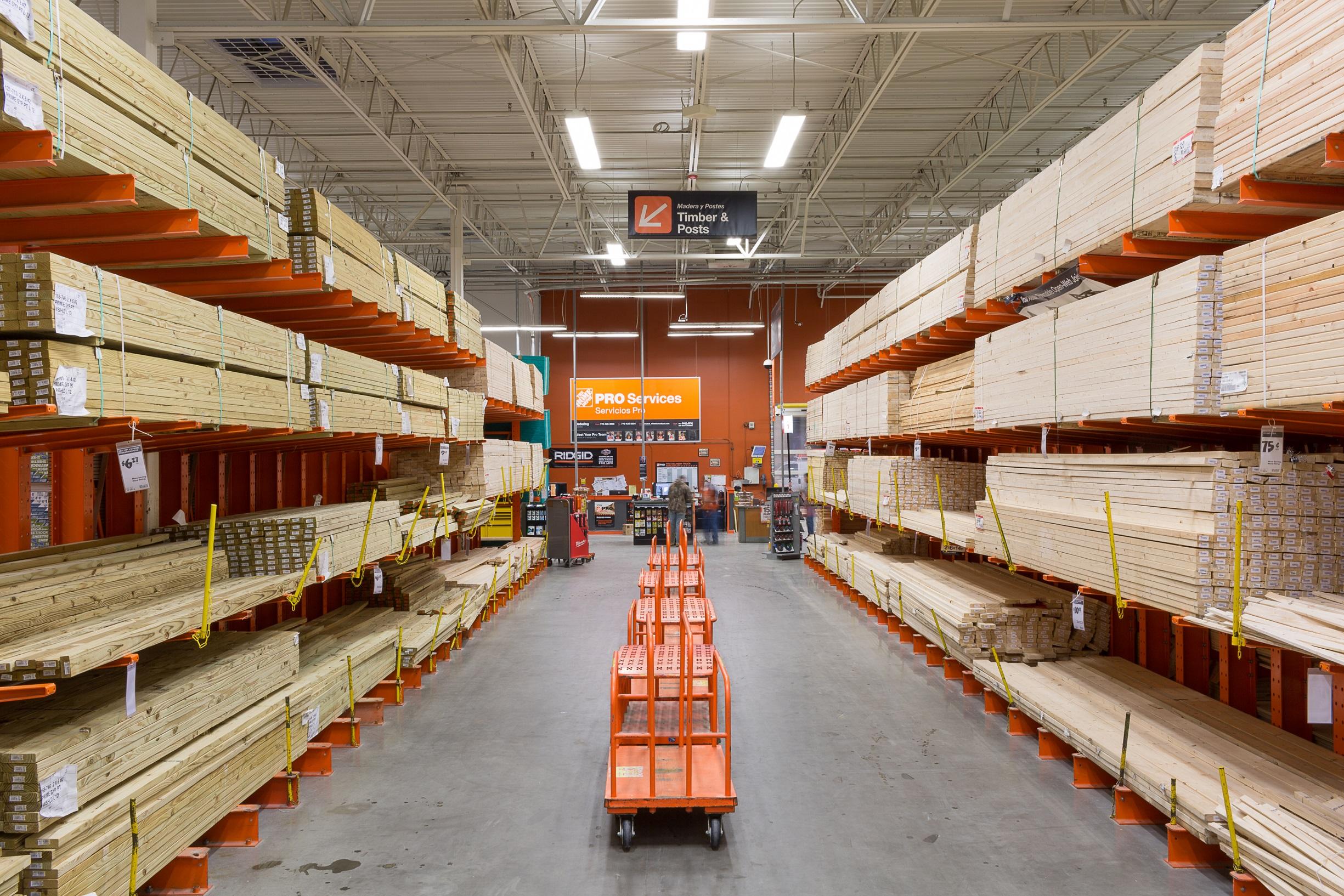 Home Depot Store Inside