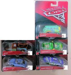 湯圓嬉遊趣 MATTEL-CARS 3 汽車總動員3-造型小汽車 混裝(若無指定英文編號將隨機出貨)單臺販售 - 露天拍賣