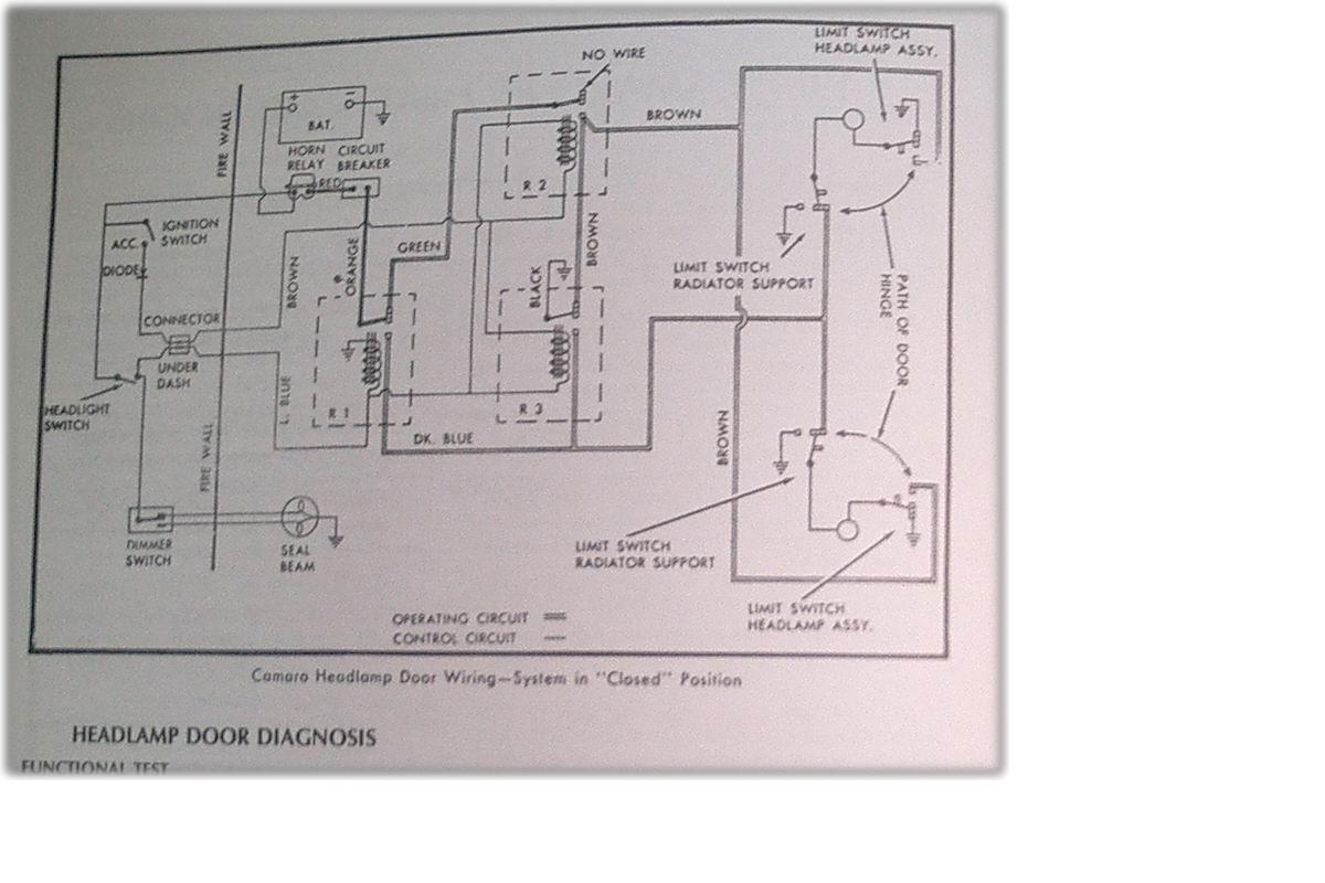 1967 camaro wiring diagram corsa c handbrake cable 67 rs headlight blog data team tech