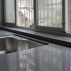 Grey Kitchen Countertops Storage Cabinet 灰色石英石设计 灰色石英石diy 灰色石英石价钱 价格 淘宝海外 灰色厨房台面