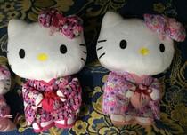 日本正品和服Hello Kitty毛絨玩具公仔擺件娃娃玩偶結婚生日禮物