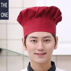Kitchen Hats Island Clearance 白色厨师帽子子穿搭 白色厨师帽子子品牌 白色厨师帽子子戴法 搭配 淘宝海外 子西餐厅帽子白色厨房帽子面点师帽男女厨师帽贝雷