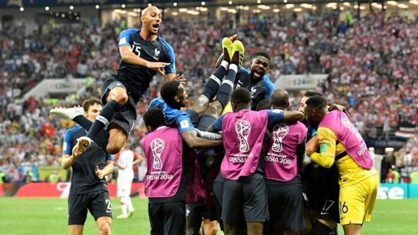 2018 俄羅斯世界盃足球賽 冠軍戰 / 法國 4:2 第二冠 - 天地悠悠任遨遊/ NFL 季後賽 1/5 開打 - udn部落格