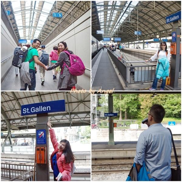 【瑞士漫遊鐵路之旅】Day 2 ~ 聖加侖 St. Gallen 歐洲中古世紀的學術藝術中心~ 2014.09.20 - 藍色天空下的向日葵的 ...