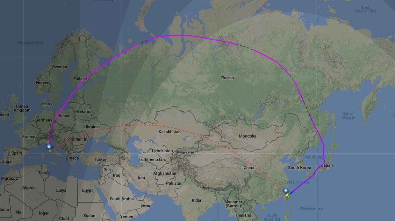 飛越歐亞大陸-航空二三事(4) - 旅途的印記 - udn部落格