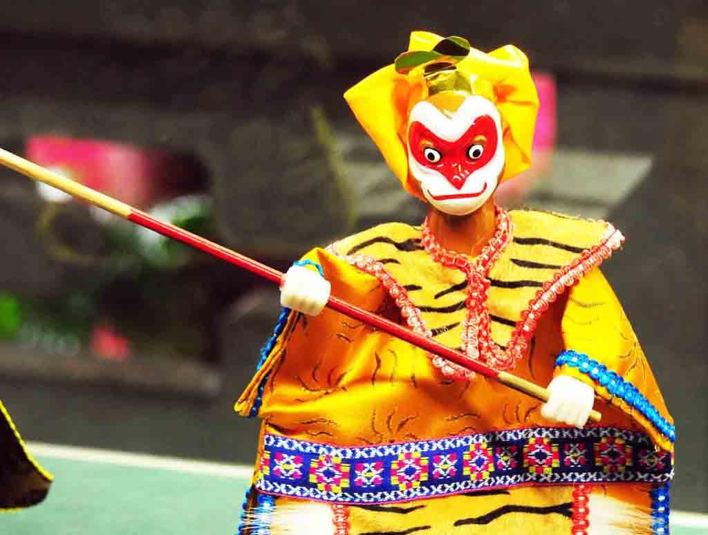 布袋戲「西遊記火焰山」戲齣裡的主角 - 雪 泥 鴻 爪 - udn部落格