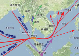 中國與泰國合作投資開發克拉運河取代馬六甲海峽? - HSR123 的部落格 - udn部落格