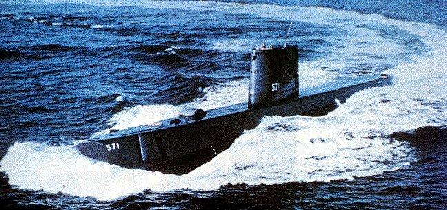 """美國第一艘核動力潛艇""""鸚鵡螺""""號下水USN/.SSN571 - HSR123 的部落格 - udn部落格"""