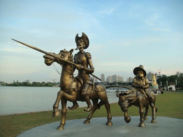 桂花公園 金雞湖 ~榮登聯合新聞網首頁 旅遊美食 - 盹龜雞的部落格 - udn部落格