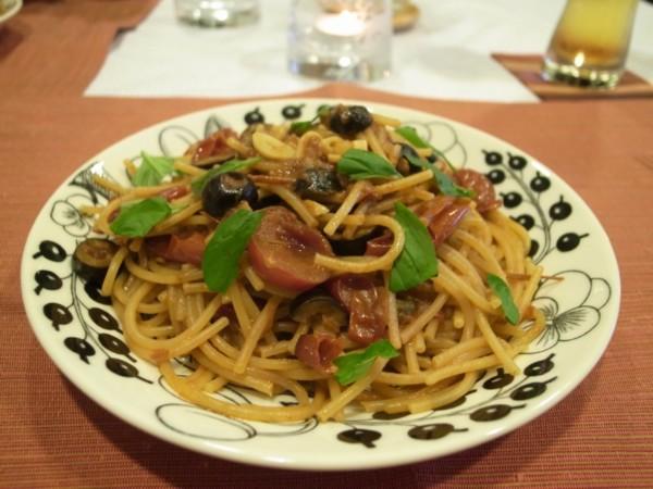 煙花女義大利麵 - 微醺廚房 - udn部落格