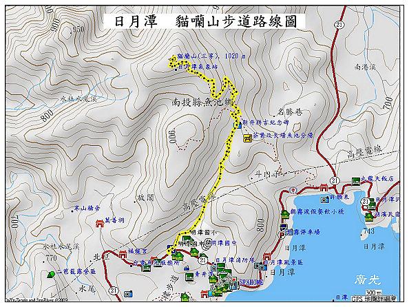 日月潭登山步道地圖|日月|地圖- 日月潭登山步道地圖|日月|地圖 - 快熱資訊 - 走進時代