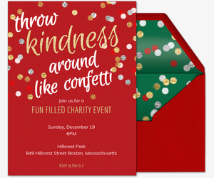 Christmas party invitation card maker cogimbo invitation to the christmas party onecolor me stopboris Gallery