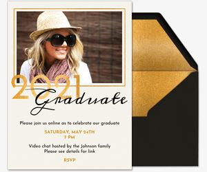 Evite online party invitations are a quick and easy alternative to traditional mailed invitations. Free Graduation Party Invitations Evite