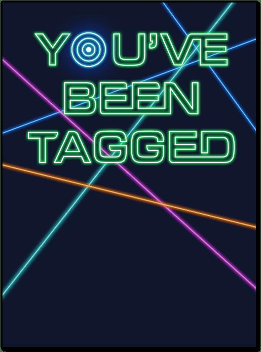 laser tag birthday invitation evite