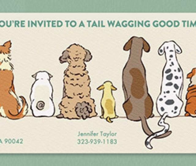 Dogtastic Invitation
