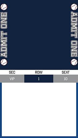 Free Baseball Invitations Ticket Designs More Evite