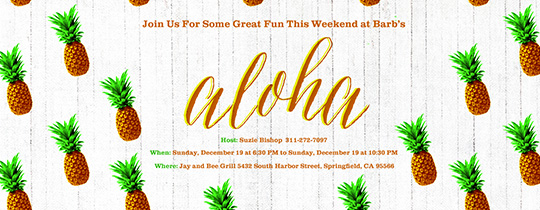 Birthday Luau Invitations As Invitation Letter And This Design Can Make Your