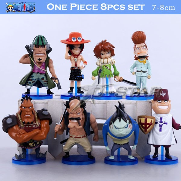 ᗗfree Shipping 3 One Piece Anime All 16 Division Commander Of