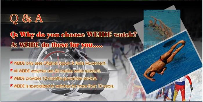 why choose weide watch