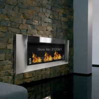 Free-Shipping-54-Wall-Mount-Bio-Ethanol-Fuel-Real-Flame ...