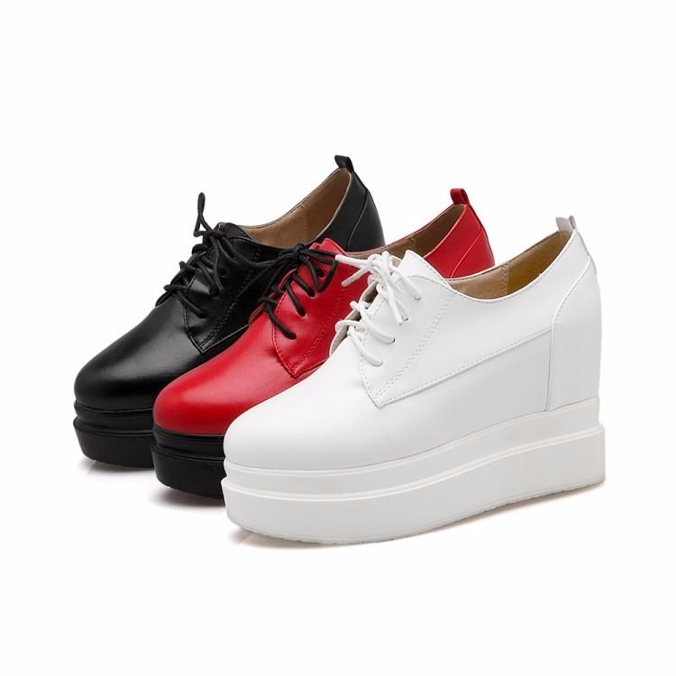 ⑤Обувь на платформе женская обувь на танкетке женские туфли на ... 22847019347