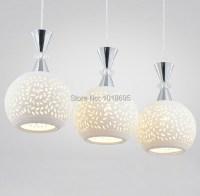 Modern Minimalist White Ceramic  Pendant Pendant Lights