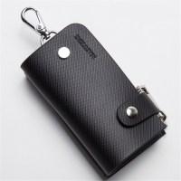 2016 Cowhide Genuine Leather Key Holder Wallets Big ...