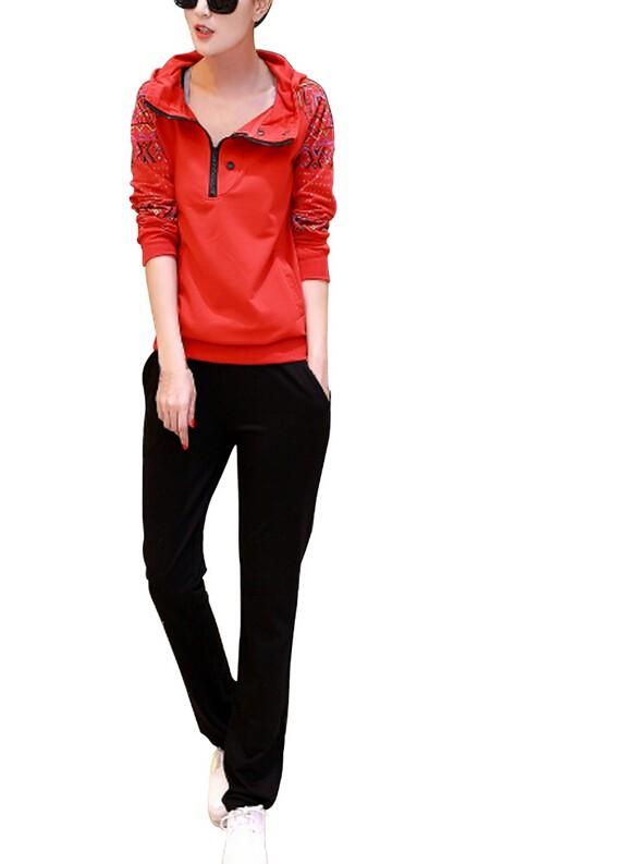 d08eb340f3c ღ Ƹ̵̡Ӝ̵̨̄Ʒ ღMypf 2 шт. Для женщин куртка тренировочные штаны ...