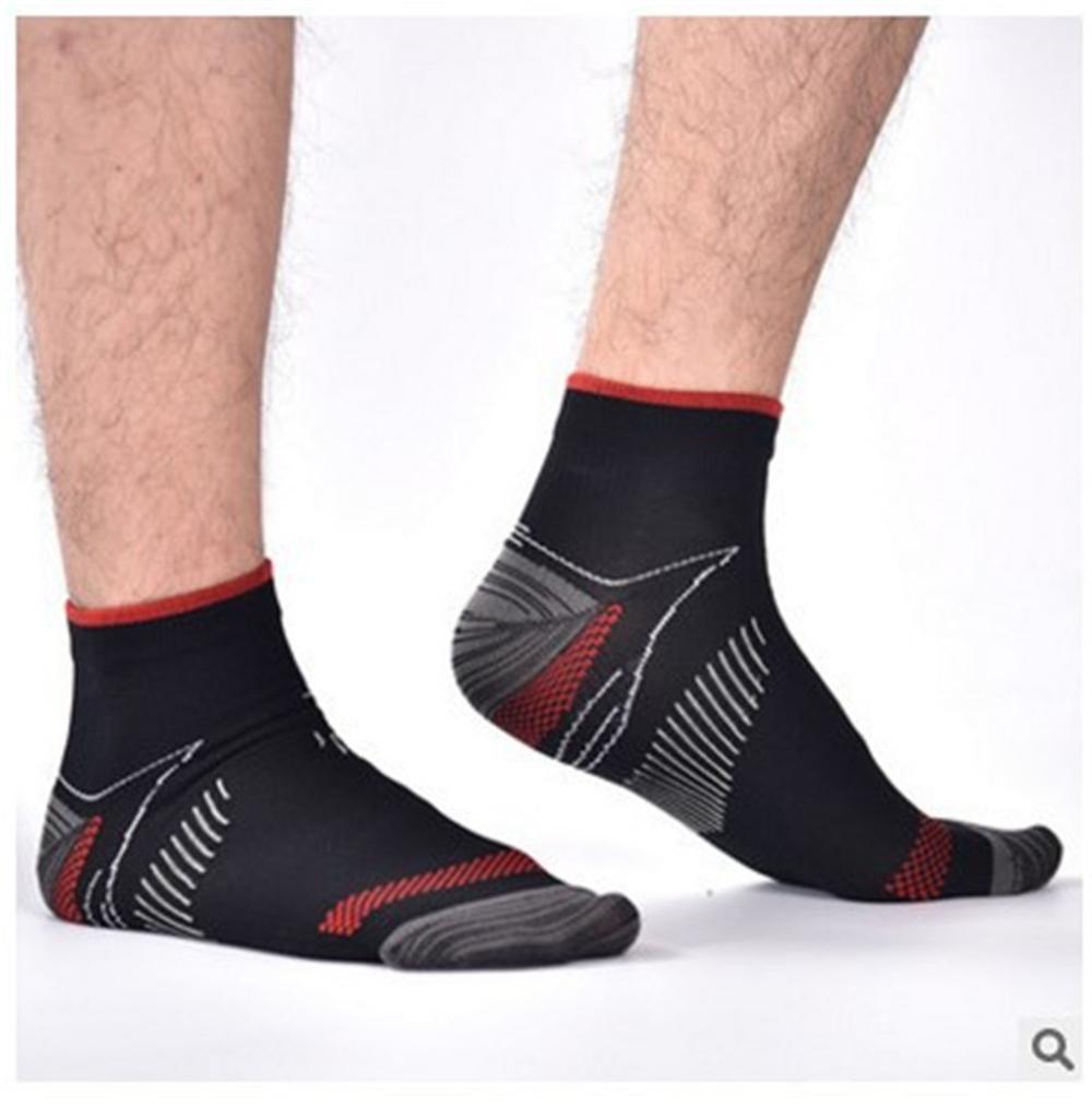 Women Crew Socks Thigh High Knee Shark Goldfish Long Tube Dress Legging Sport Compression Stocking