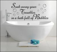 Bathroom Wall Sayings Reviews - Online Shopping Bathroom ...