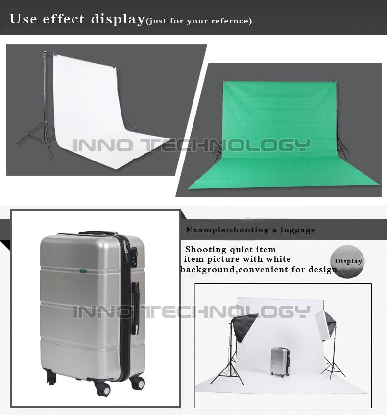 Inno סטודיו לצילום רקע תמיכה לעמוד 3x2.4m עם חינם תפאורות רקע על עמוד ערכות באיכות גבוהה צילום PSBS3