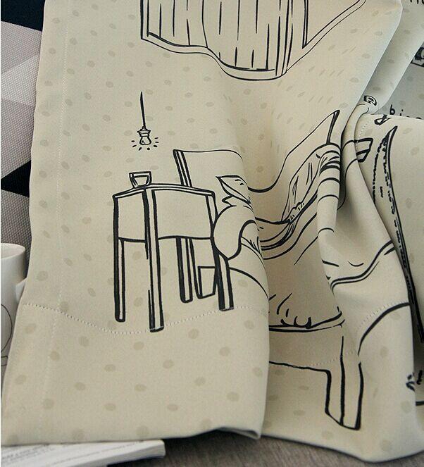 ツ)_/¯Corea envío gratis dormitorio cortinas opacas cortinas