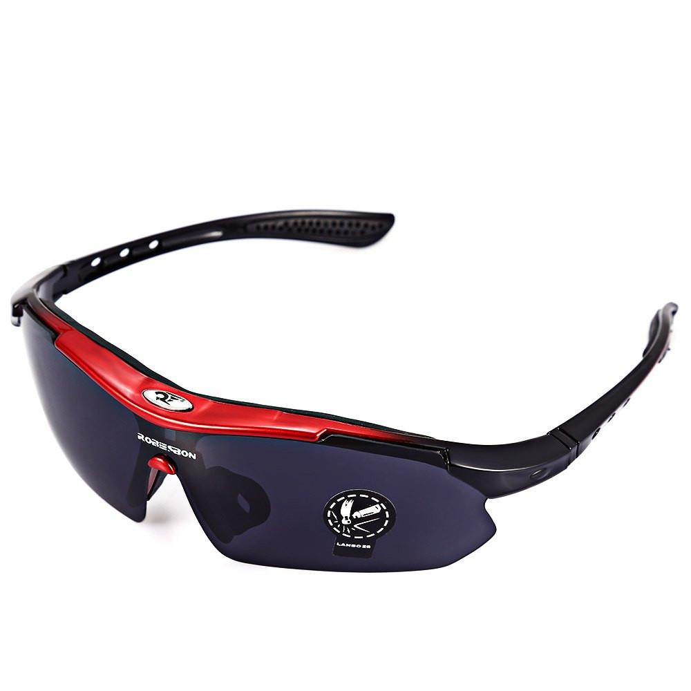 ROBESBON EMS-TR90 Material de Armação Óculos Óculos De Proteção UV400  Sports Óculos de Sol Goggle PC Lente Olho de Atividades Ao Ar Livre Da  Bicicleta bc853eaef4