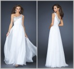 White Summer Formal Dresses