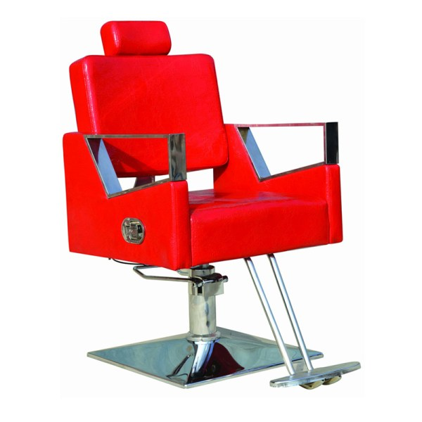 Cheap Red Haircut Barber Chair Recline Lift Factory