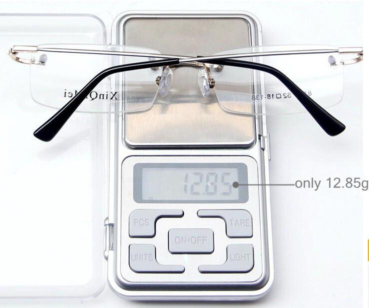 ᐂ5 unids lote memoria de aleación de titanio gafas sin montura de ... 3bccf90d54