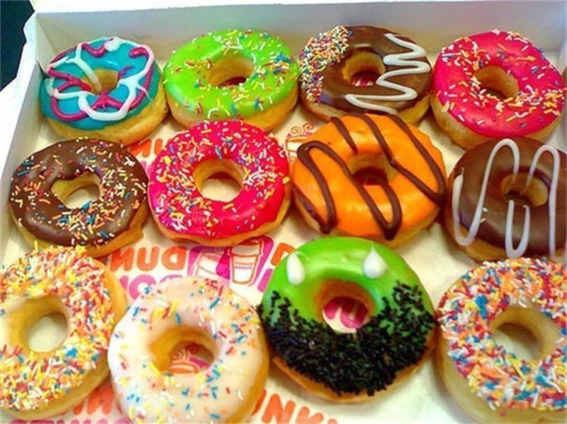 Donut Support Argent 925 Rosé-plaqué or avec charnière pour donuts Ø 30 mm