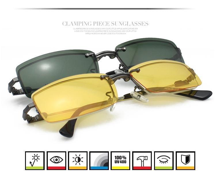 2520cc3be0cfca ₩3 en 1 Hommes Demi-jante lunettes cadre pour hommes lunettes ...