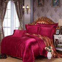 Popular Silver Satin Comforter
