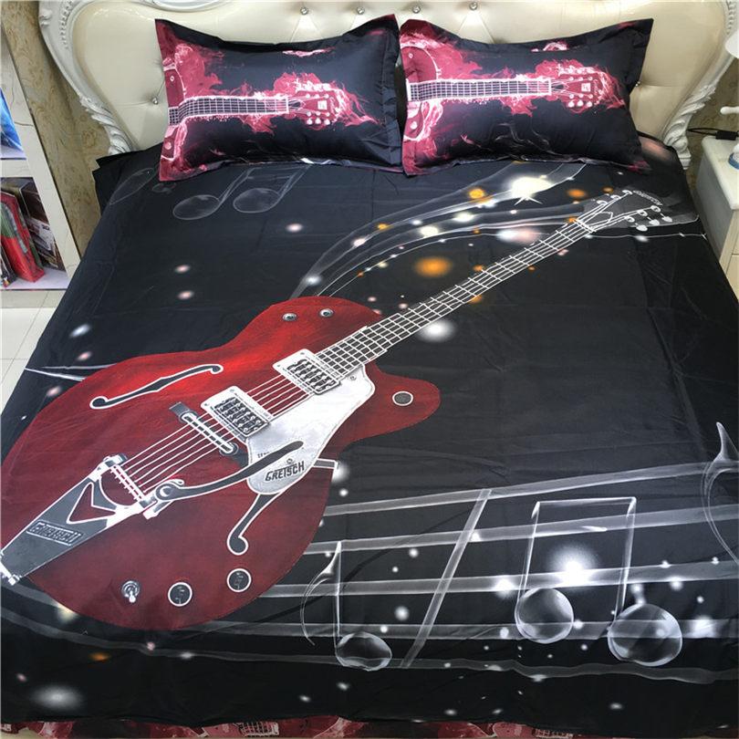 Online Get Cheap Guitar Comforter Set