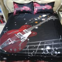 Online Get Cheap Guitar Comforter Set