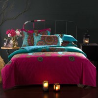 20~27Day Delivery moroccan Ethnic Style cotton bedding set ...
