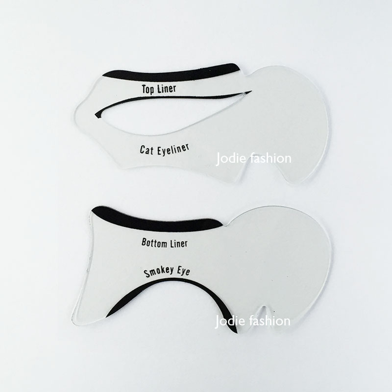 photo regarding Eyeliner Stencil Printable named Cat Eye Make-up Printable Stencil Saubhaya Make-up