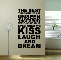 60*100 The best thing..., hot sale word quote wall decor ...