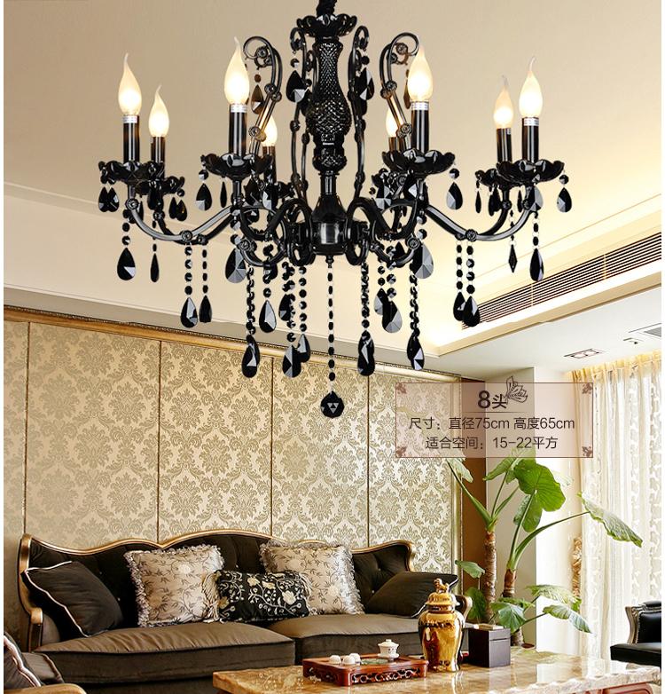 Modern black chandelier bedroom caboche chandelier vintage chandelier living room china lighting