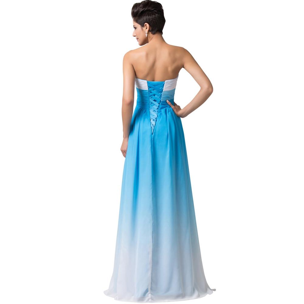 ツ)_/¯Grace Karin Summer Ombre Chiffon Bridesmaids Dress 2018 ...