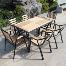 Balcony Patio Outdoor Furniture Leisure Wood