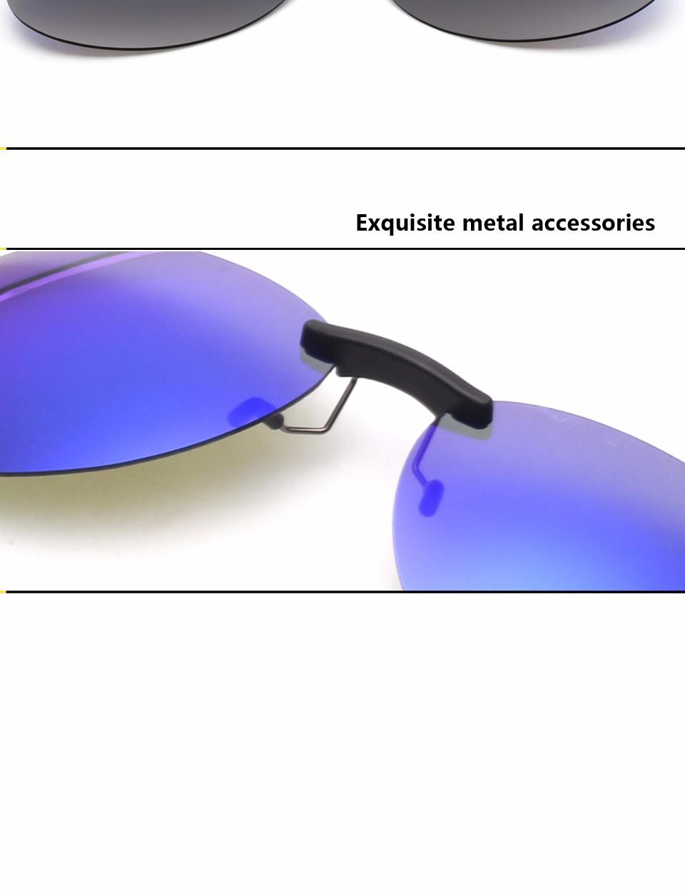 b485500eaea89 ᐃClipe de óculos de sol Mulheres Polarizada Clip sobre óculos de ...