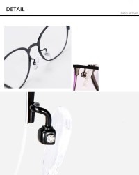 Titanium Glasses Frames For Men Women Eyewear Optical ...
